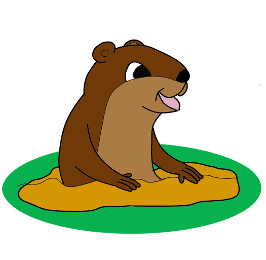 Our Mascot: The noble groundhog